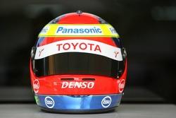 Helmet of Ricardo Zonta