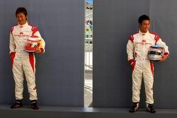 Yuji Ide and Takuma Sato
