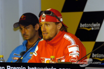 Press conference: Sete Gibernau