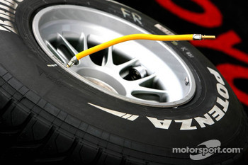 A Bridgestone tire