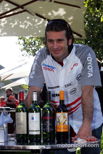 Jarno Trulli presents his wine