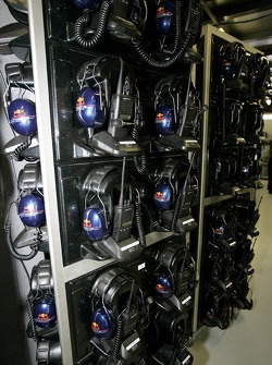 Telecom equipment at Red Bull Racing