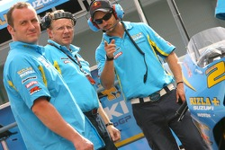 Rizla Suzuki team members