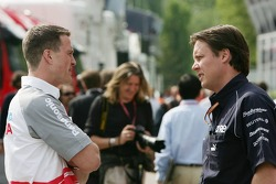 Ralf Schumacher and Sam Michael