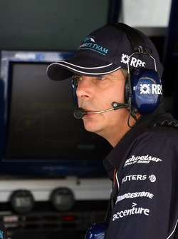 Tim Newton WilliamsF1 team manager