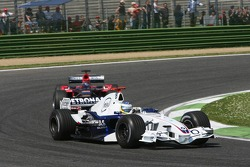 Nick Heidfeld leads Scott Speed