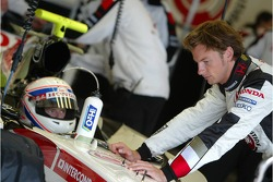 Anthony Davidson and Jenson Button