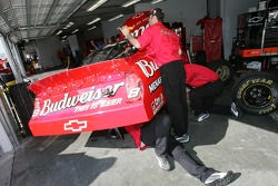 Bud Chevy crew members at work