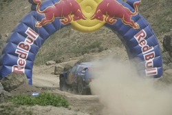 Red Bull goes off track: a Volkswagen Touareg
