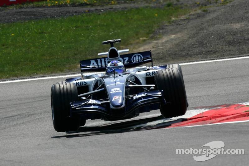 2006年:F1新秀赛季中两次获得积分