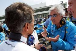 Dr. Mario Theissen and Flavio Briatore