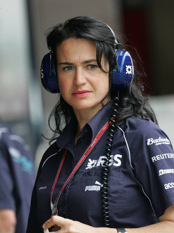 Silvia Hoffer, Williams F1 Team, Press Officer