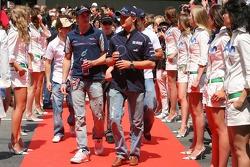 Scott Speed and Nico Rosberg