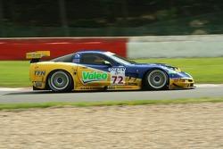 #72 Luc Alphand Aventures Corvette C5-R: Jérôme Policand, Patrice Goueslard, Anthony Beltoise