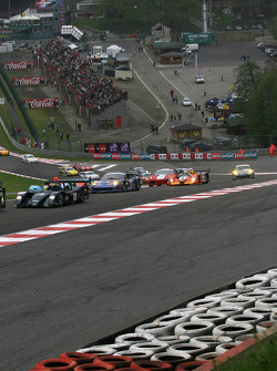 Action in Eau Rouge