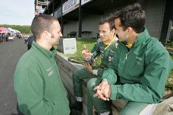 Darren Turner, Stéphane Sarrazin and Pedro Lamy