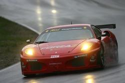 #62 Risi Competizione Ferrari 430 GT Berlinetta: Mika Salo, Jaime Melo