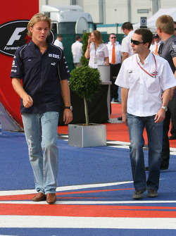 Nico Rosberg and Nicolas Todt