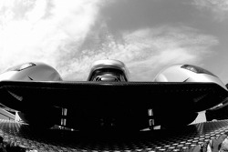 Audi Sport Team Joest Audi R10 is unloaded