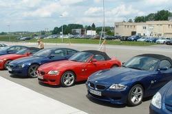 Various BMWs