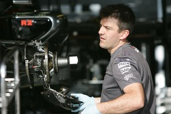 McLaren team member at work