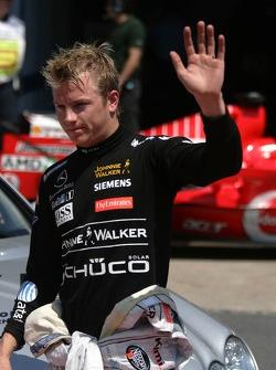 Kimi Raikkonen qualified in 3rd place