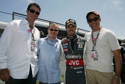 Alex Shnaider, Tiago Monteiro and Midland F1 Team guests