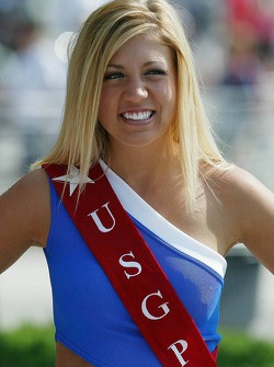US GP girl