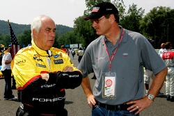 Roger Penske and Johan de Nysschen, executive vice-president of Audi of America