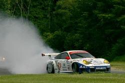 #23 Alex Job Racing Porsche 911 GT3 RSR: Mike Rockenfeller, Klaus Graf in trouble