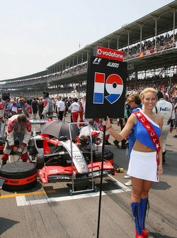 US GP grid girl