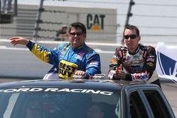 Jeff Green and Kyle Busch