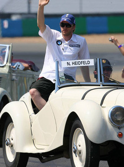 Drivers parade: Nick Heidfeld