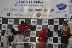 LM GT2 podium