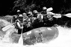 Rafting with ALMS drivers