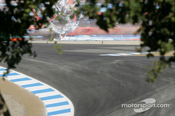 The Corkscrew awaits the return of MotoGP