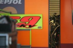 Nicky Hayden's Honda RC211V