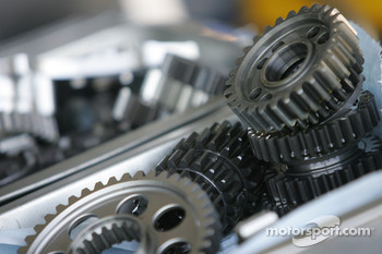 Gears from the Yamaha YZR-M1
