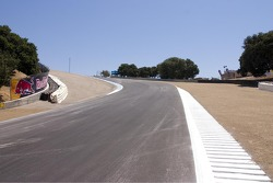 Track walk: Looking back to Turn 8
