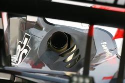 Exhaust of Midland MF1 Racing