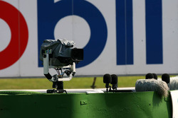 Remote operated TV camera