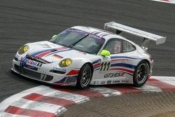 #111 Manthey Racing Porsche 997 GT2: Timo Bernhard, Marc Lieb, Pedro Lamy