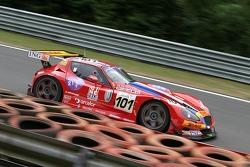 #101 Belgian Racing Gillet Vertigo: Bas Leinders, Renaud Kuppens, Jerome d'Ambrosio
