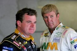 Joe Nemechek and Sterling Marlin