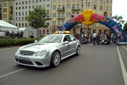 Running bulls rendez-vous in Budapest: the safety car and the cars of  Neel Jani and Robert Doornbos