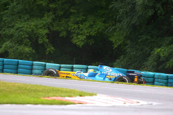 Giancarlo Fisichella in the barrier