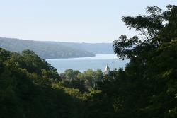 A view of Watkins Glen and Seneca Lake