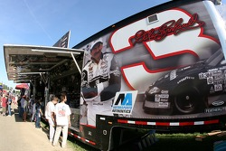 Merchandising area of Dale Earnhardt