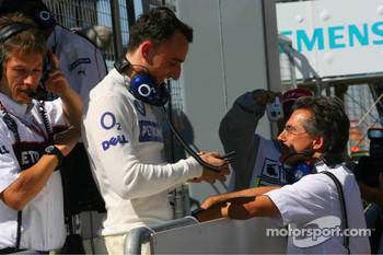 Robert Kubica and Dr. Mario Theissen