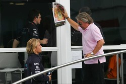 Keke Rosberg with his son Nico Rosberg